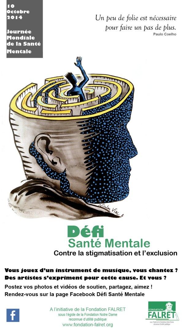 La Fondation FALRET lance le Défi Santé Mentale !
