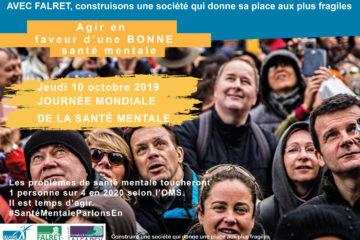 Journée Mondiale de la Santé Mentale !